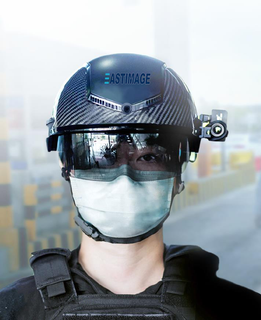 HN-800 Thermal Image Smart Helmet for coronavirus